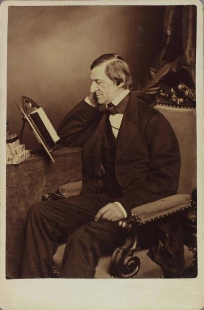 Portrait of Ralph Waldo Emerson [graphic].