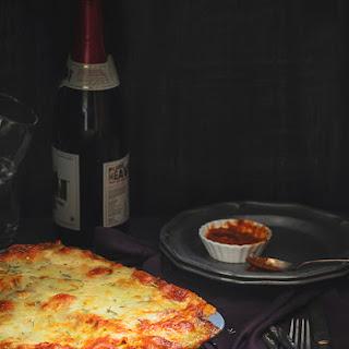 Grilled Rosemary Chicken Lasagna