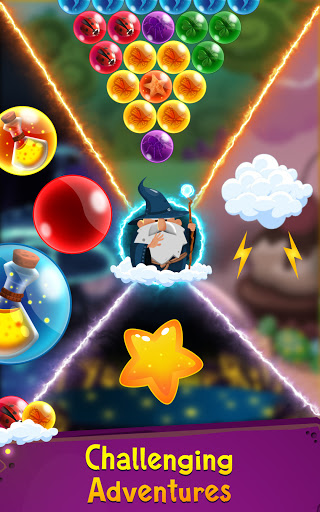 Bubble Shooter: Bubble Wizard, match 3 bubble game apkmr screenshots 6