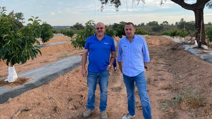 Martyn Pearce, director de Negocio de Ecoculture, y, Juan López, delegado en Huelva