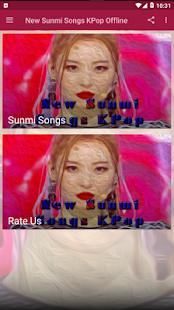 New Sunmi Songs KPop Offline Screenshot