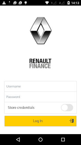 android Renault Finance Screenshot 0