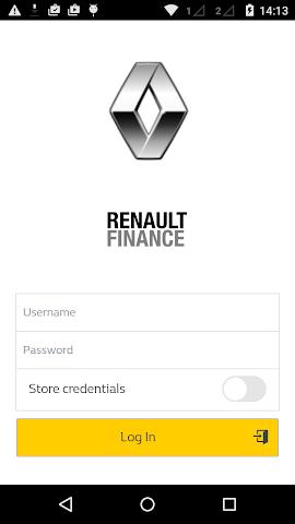 android Renault Finance Screenshot 0