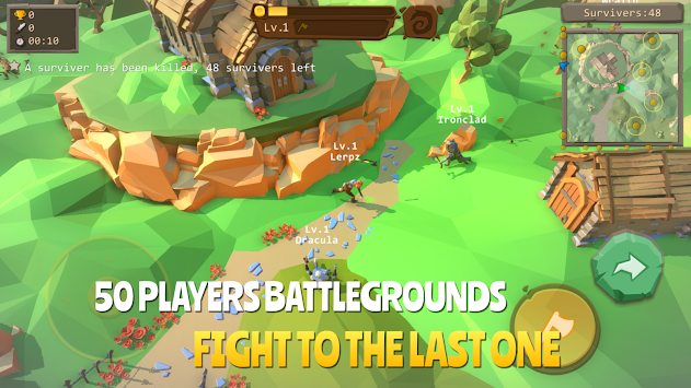 AXE.IO - Brutal Survival Battleground