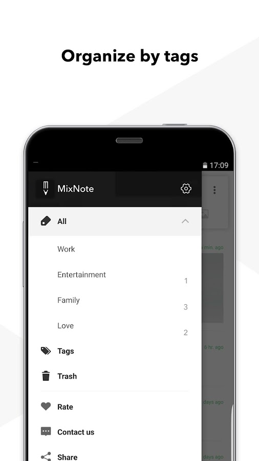 MixNote NotePad Notes- screenshot