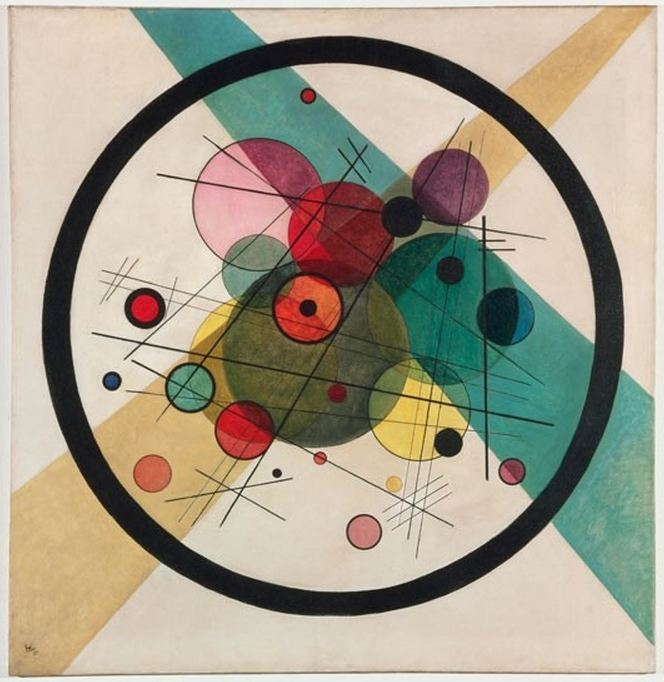 Kandinsky, Circles in a Circle