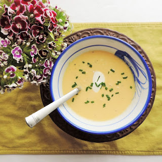 Spargelsuppe--White Asparagus Soup Recipe