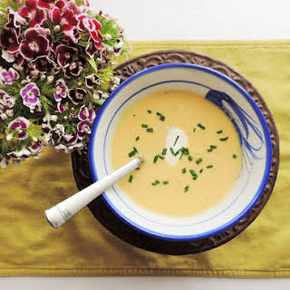 Spargelsuppe--White Asparagus Soup.