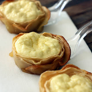 Apple & Ricotta Tartlets.