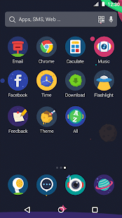 Universe: DU Launcher Theme- screenshot thumbnail