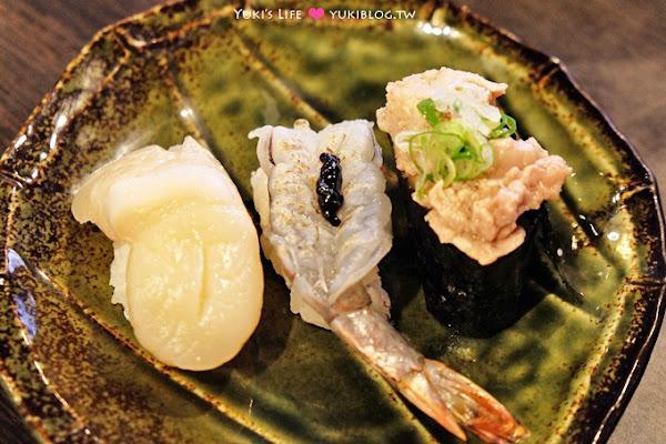 新莊【鮭鮮人壽司屋】平價多樣季節食材握壽司、組合壽司竟也有大驚喜 @新莊站