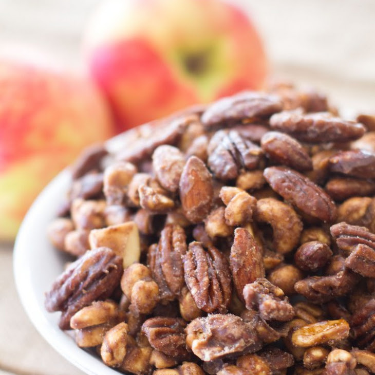 Apple Spice Candied Mixed Nuts Recipe | Yummly