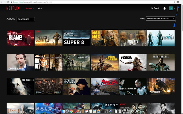 RandomFlix - Pick a random netflix video