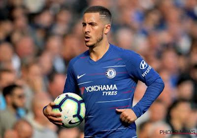 Bonne nouvelle pour Eden Hazard et Chelsea