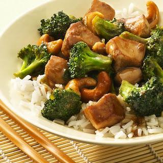 Cashew Chicken and Broccoli Recipe