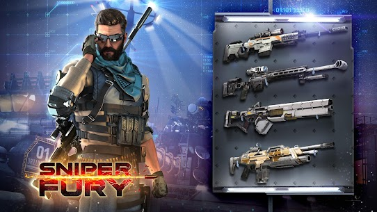 Sniper Fury: Online 3D FPS & Sniper Shooter Game 1