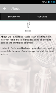 Embrace Radio- screenshot thumbnail