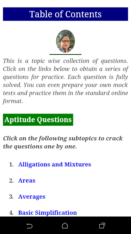 Aptitude & Reasoning Questions, Bank PO, SSC, IBPS- screenshot