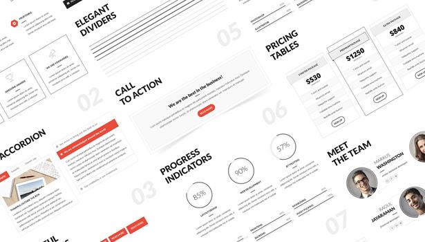 Q Creative - The HTML5 Template - 15
