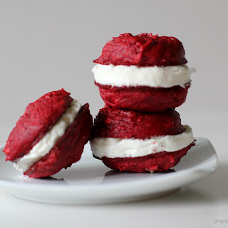 Red Velvet 3 Ingredient Cake Mix Cookies.