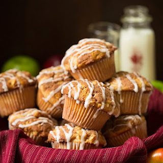 Apple Snickerdoodle Muffins.