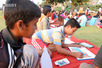 Photo: Children drawing Competion BBRT
