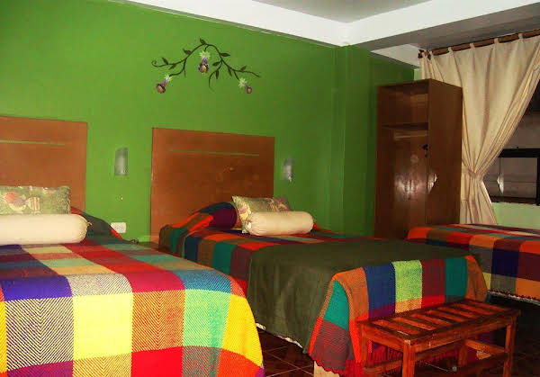 Machu Picchu Green Nature