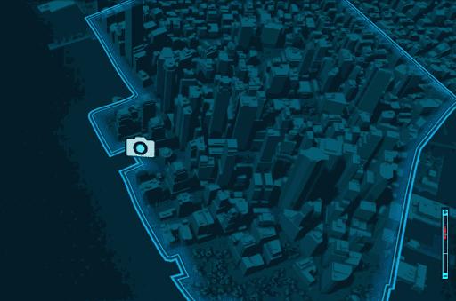 金融街⑥エリア場所