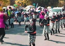 Karnaval HUT RI Ke 73 Kabupaten Ngawi