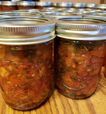 Canned Bruschetta