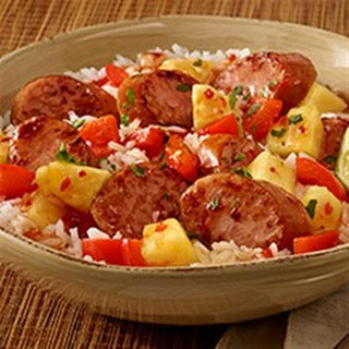 Hawaiian Pineapple Sweet & Sour Smoked Sausage