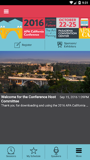 APA California 2016 Conference
