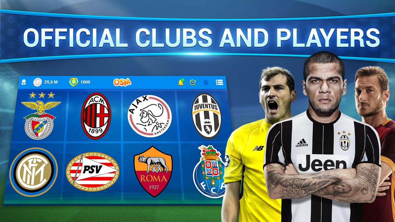 Online Soccer Manager (OSM) – Android Apps on Google Play