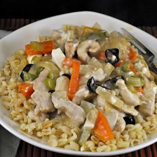 Moroccan Turkey Stir-Fry on Barley