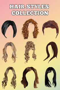 Girls Hairstyle Change Camera Editor- screenshot thumbnail