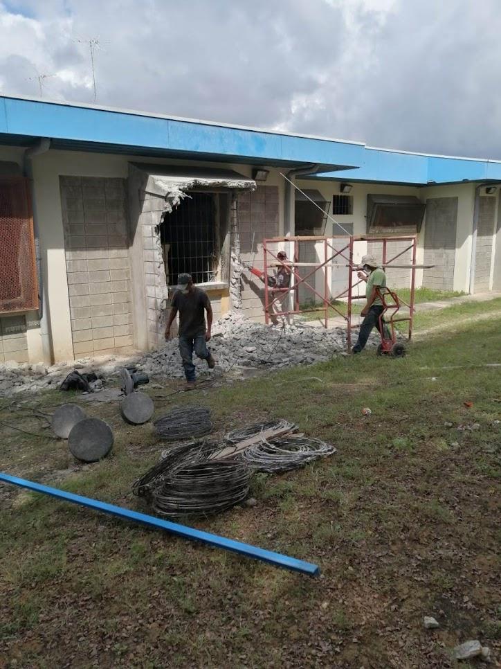 CAI LIBERIA HABILITA ESPACIOS PARA ACTIVIDADES AL AIRE LIBRE