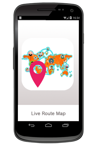生活路线地图