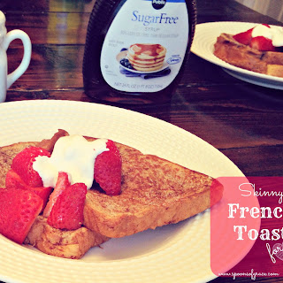 Skinny French Toast for 2 (Quick Recipe!)