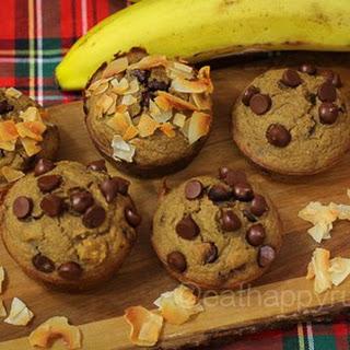 Banana Oatmeal Blender Muffins