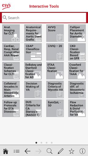 esvs clinical guidelines screenshot 3
