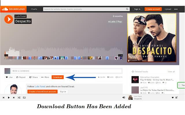 soundcloud chrome downloader