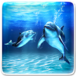 Sea Dolphin Live Wallpaper Icon