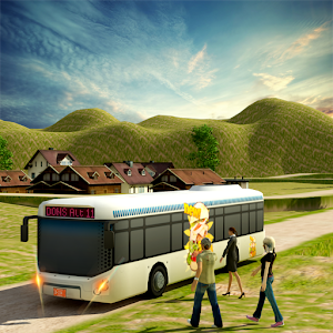 Coach Bus Offroad Down Hill for PC and MAC