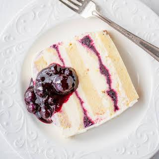 Blueberry-Lemon Icebox Cake.