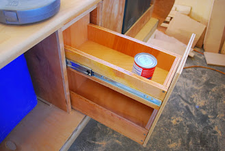 Photo: 2 vertical drawers for food storage.