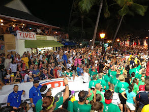 Photo: The crowds were amazing at midnight