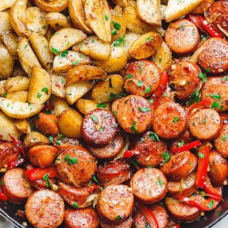 20-Minute Smoked Sausage and Potato Skillet Recipe