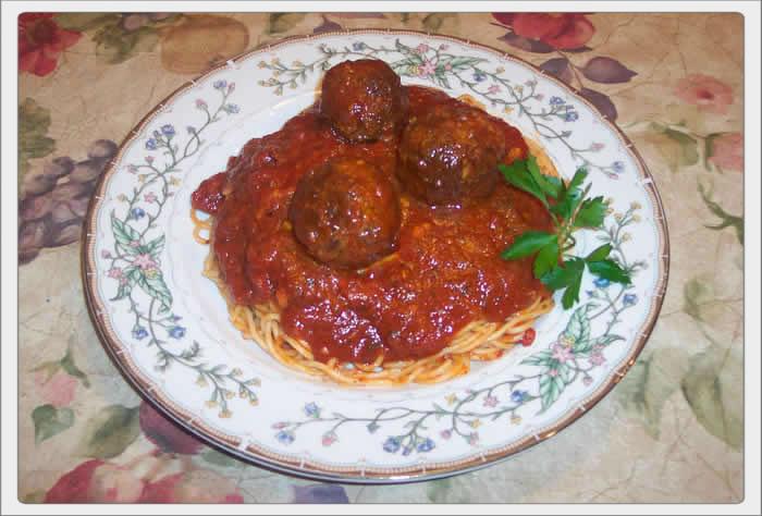 Pasta Sauce, Meatballs, Sausage and Braciole Recipe