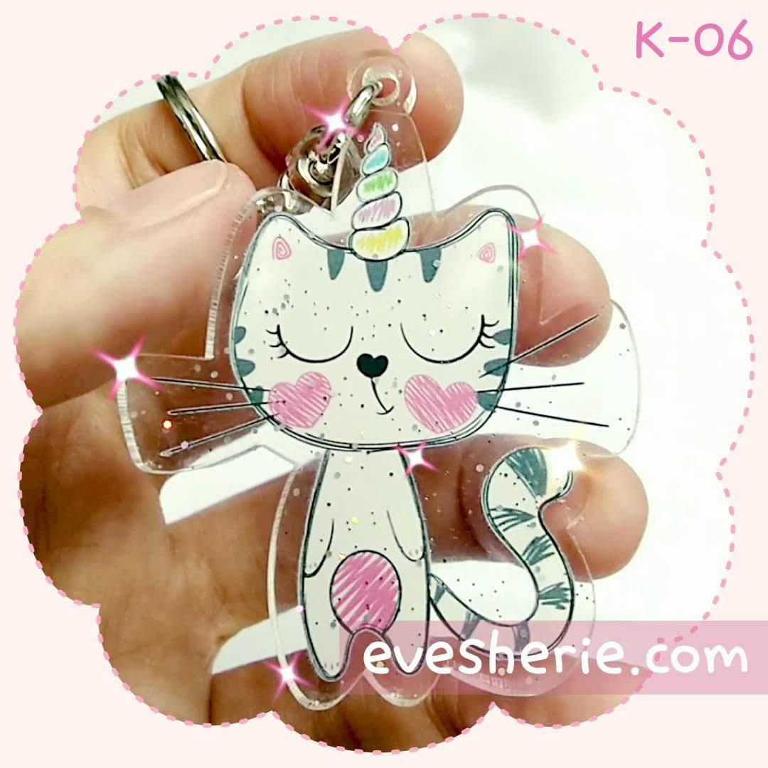 พวงกุญแจ แมว cute cat keychain