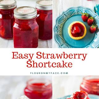 Easy Strawberry Shortcakes Recipe